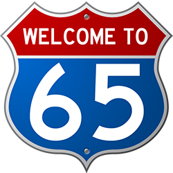 Welcome to 65 logo (image)