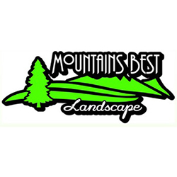 Mountain's Best Landscape logo (image)