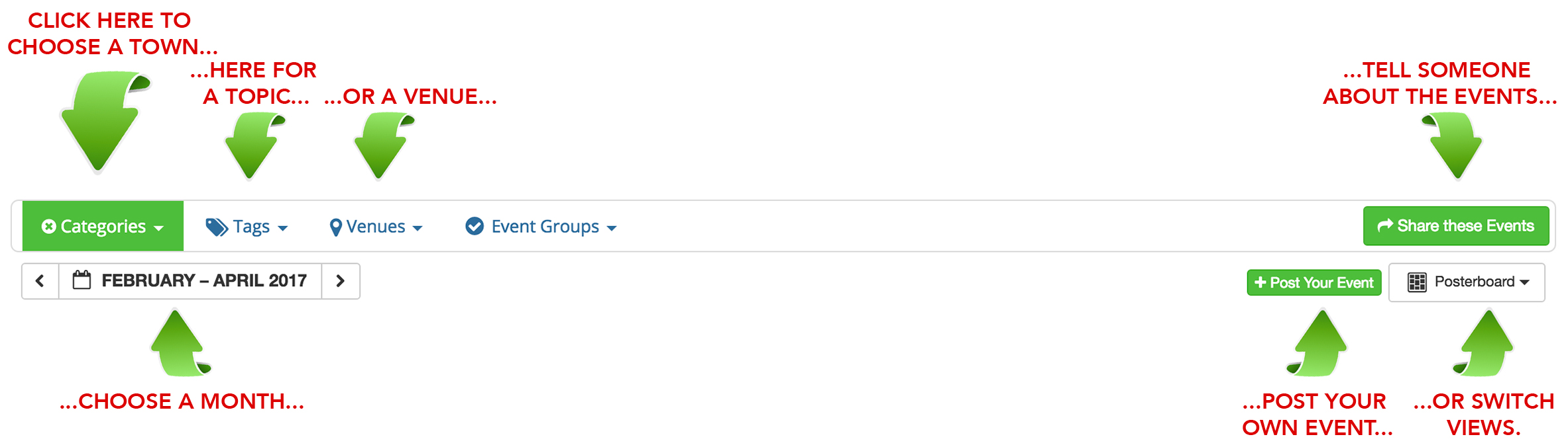 events calendar show low chamber of commerce